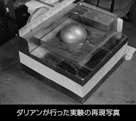 デーモン・コア実験怖すぎ プルトニウムの塊の周りにブロック積んでく→ミスって上に落として臨界反応